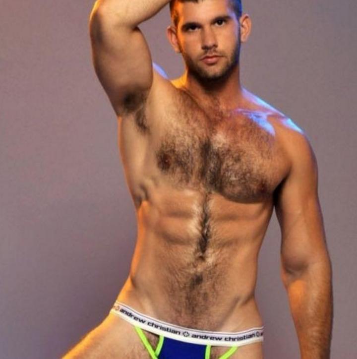 Hairy Brazilian Male Porn Star