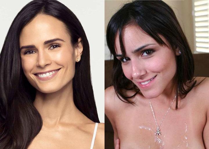 Pornstar who look like celebrities