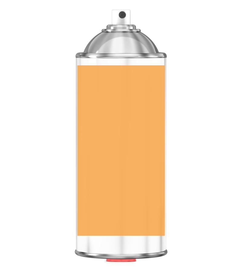 RAL 1017 Saffron yellow Sprayburk 2K