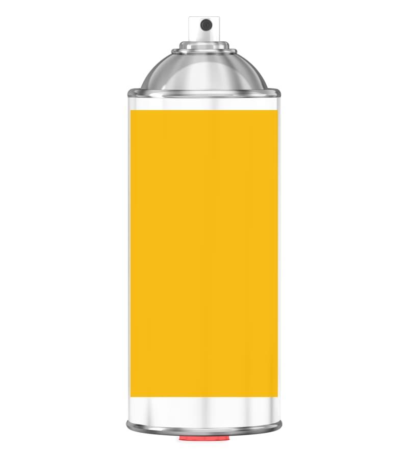 RAL 1023 Traffic yellow Sprayburk 2K