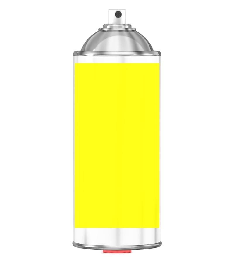 RAL 1026 Luminous yellow Sprayburk 2K