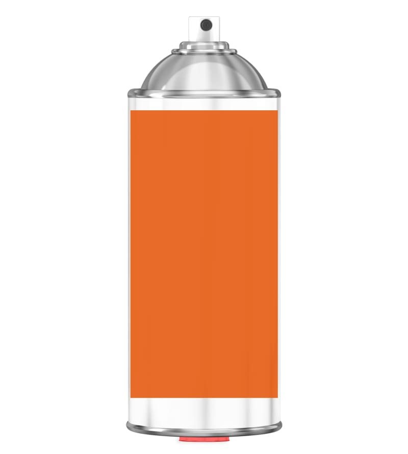 RAL 2004 Pure orange Sprayburk 2K
