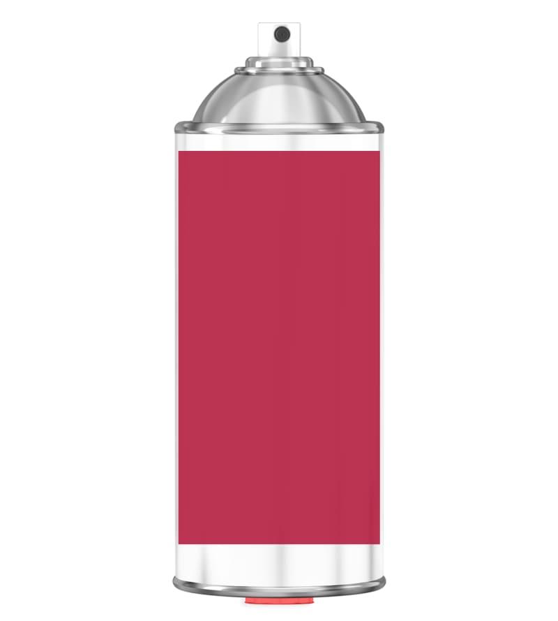 RAL 3027 Raspberry red Sprayburk 2K