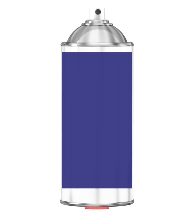 RAL 5002 Ultramarine blue Sprayburk 2K