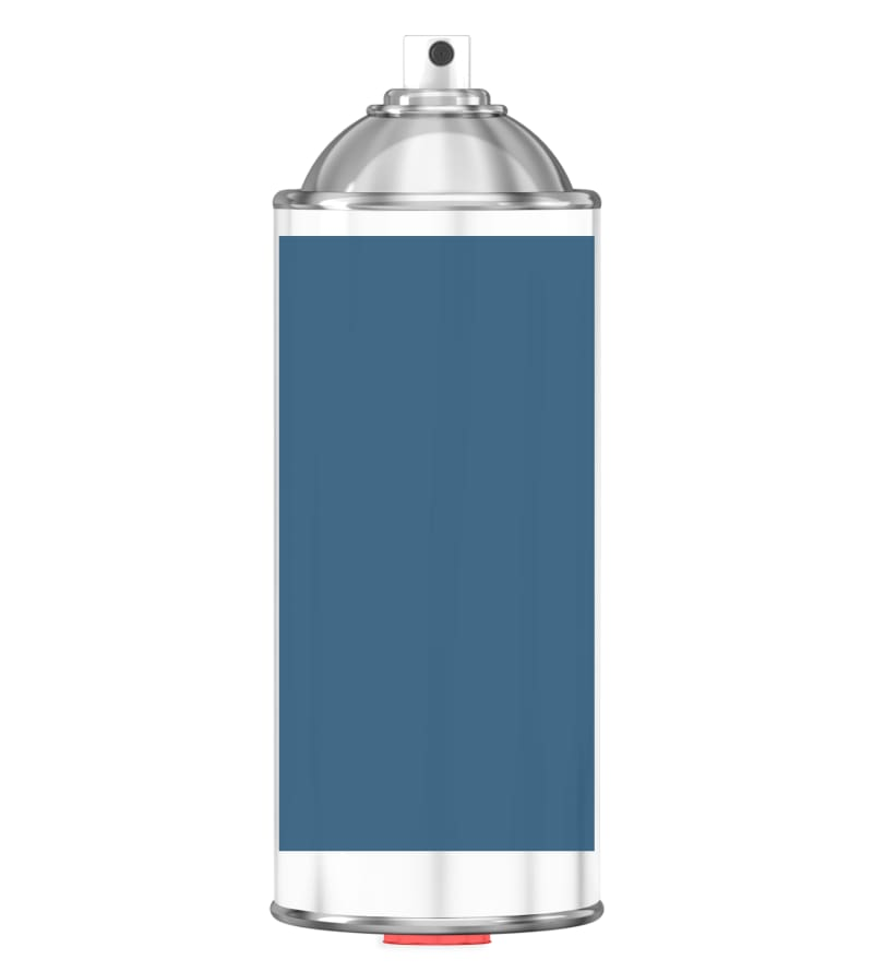 RAL 5009 Azure blue Sprayburk 2K