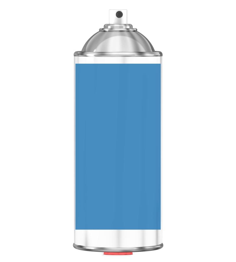 RAL 5012 Light blue Sprayburk 2K