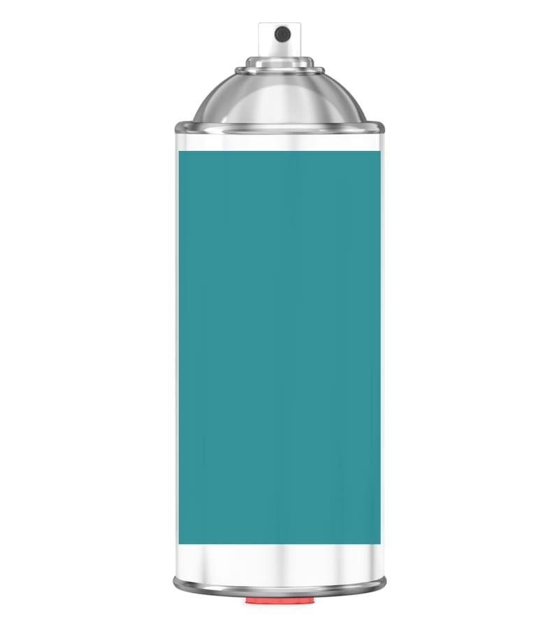 RAL 5018 Turquoise blue Sprayburk 2K