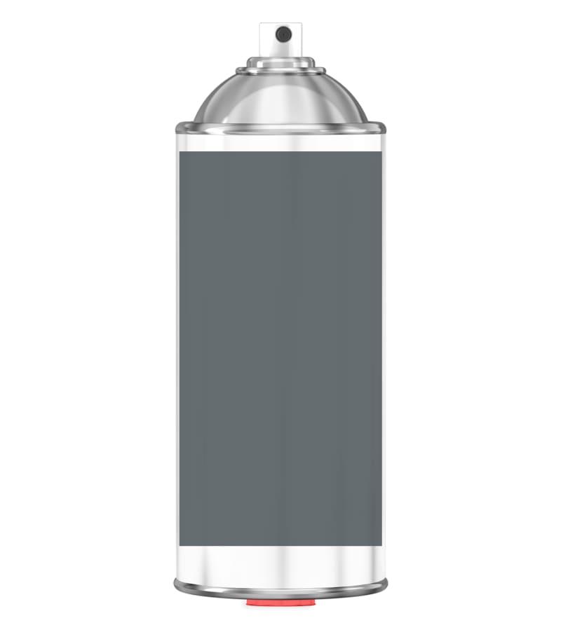RAL 7011 Iron grey Sprayburk 2K