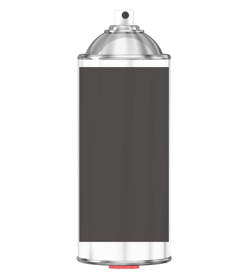 RAL 8019 Grey brown Sprayburk 2K