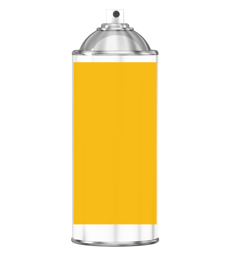 RAL 1023 Traffic yellow Sprayburk