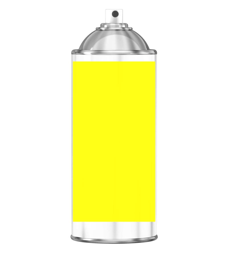 RAL 1026 Luminous yellow Sprayburk