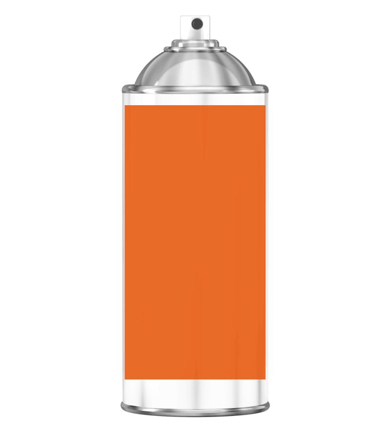RAL 2004 Pure orange Sprayburk