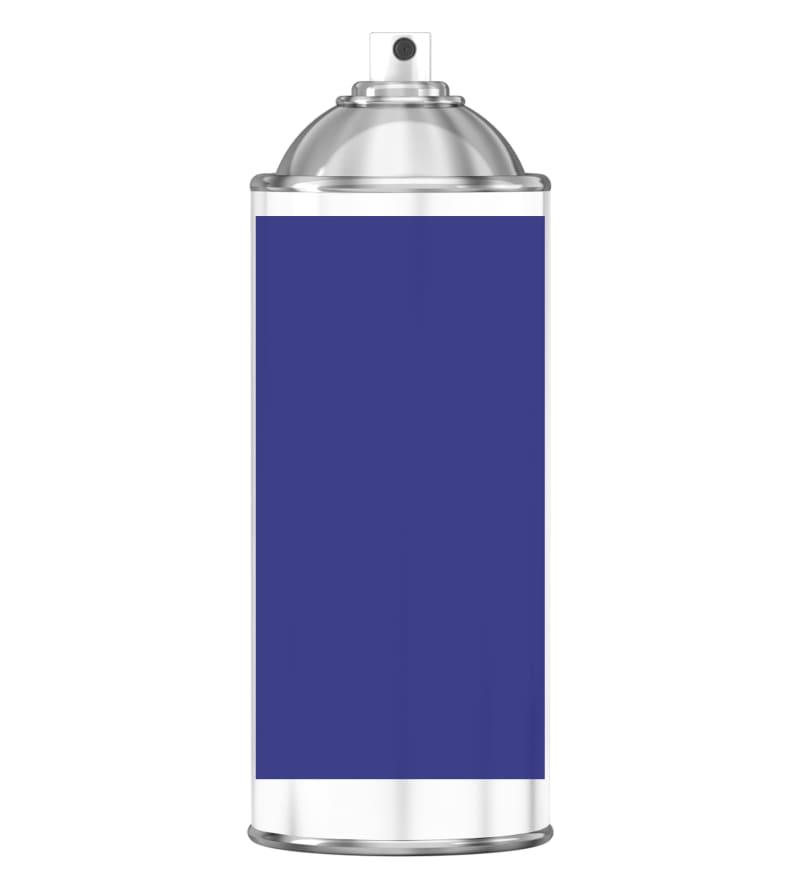 RAL 5002 Ultramarine blue Sprayburk