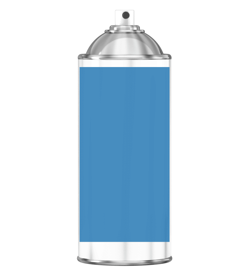 RAL 5012 Light blue Sprayburk