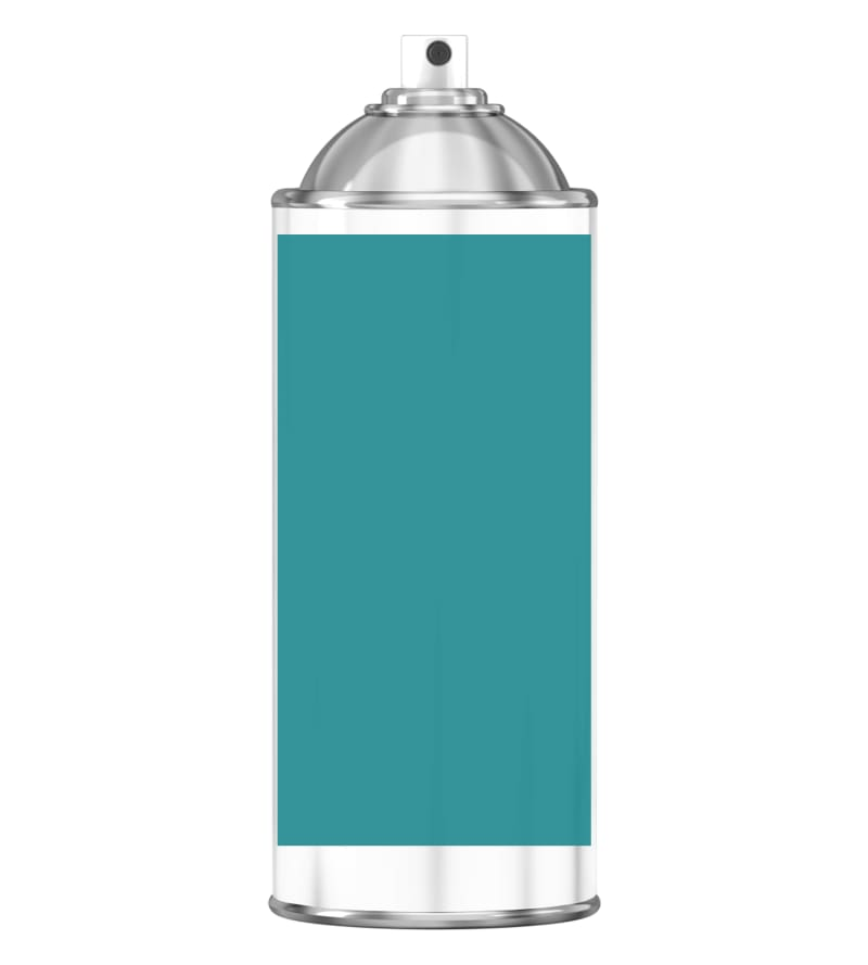 RAL 5018 Turquoise blue Sprayburk