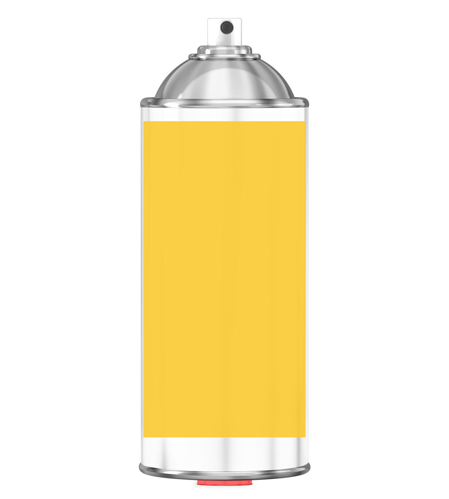 RAL 1018 Zinc yellow Sprayburk 2K