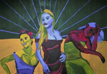 Three Muses by Jessyca Wallace