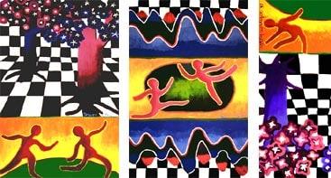The Triptych by Jessyca Wallace