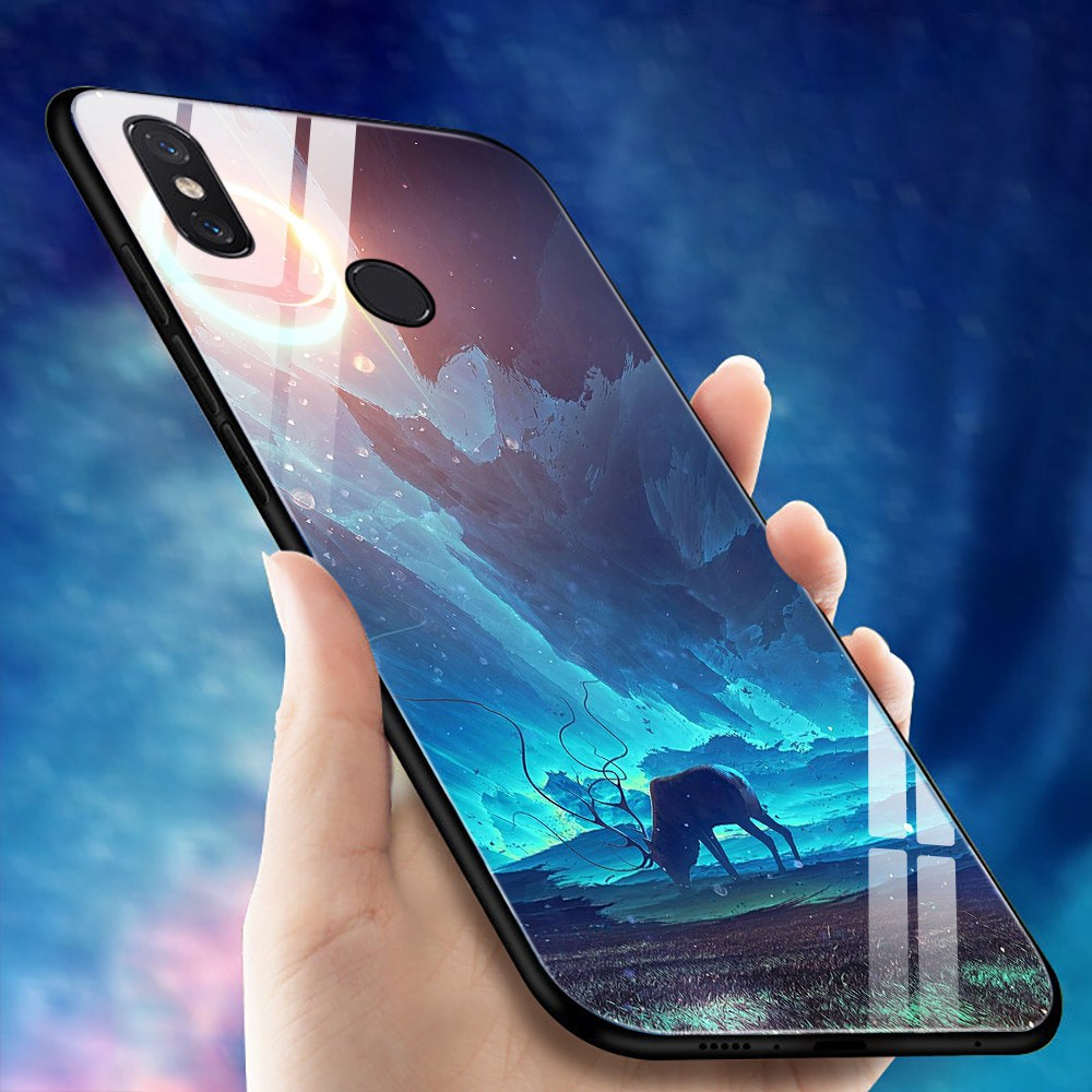 Tempered Glass Case For Xiaomi Redmi Note 5 Pro 360 Hd Plus Full Cover 4x 5x Silicone Mi A1