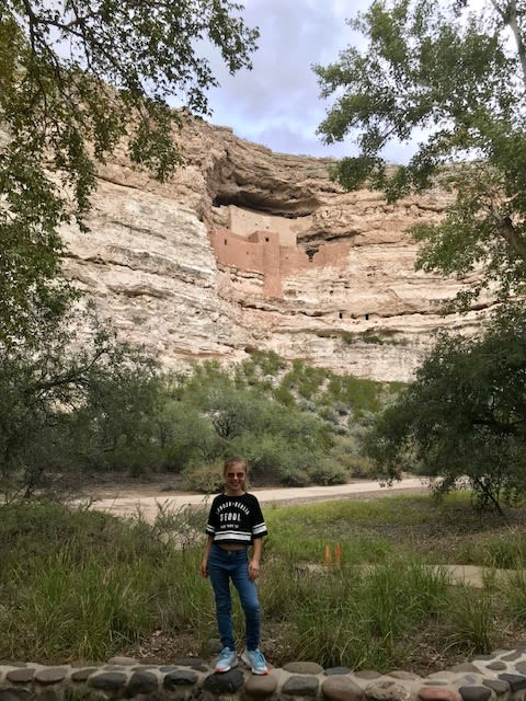 photo of daisy at Montezuma Castle