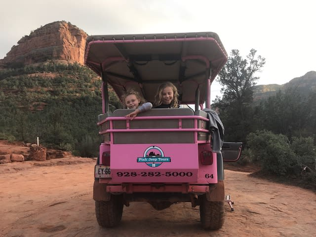 Jetlag & Mayhem on Pink Jeep Tour