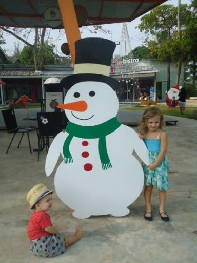 Thai Snowman - Shrink