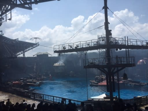 USS - Waterworld Show