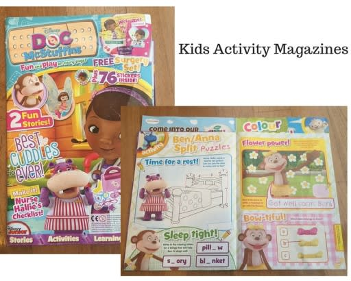 Kids Activity Magazines