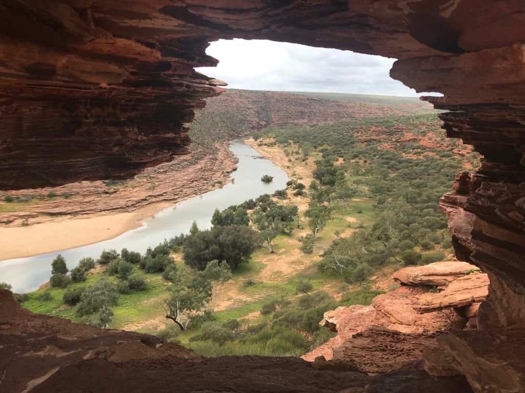 photo of natures window, kalbarri