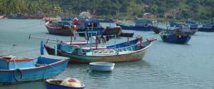 Amanoi fishing boats
