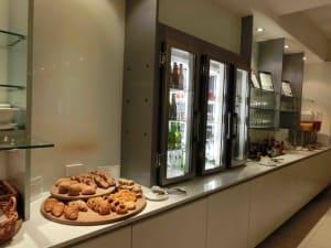 Qantas Lounge Food
