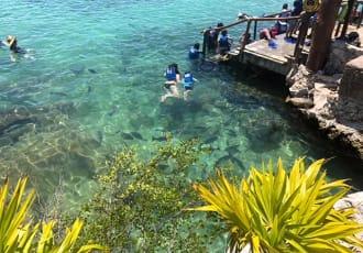 Snorkelling adventure park Mexico