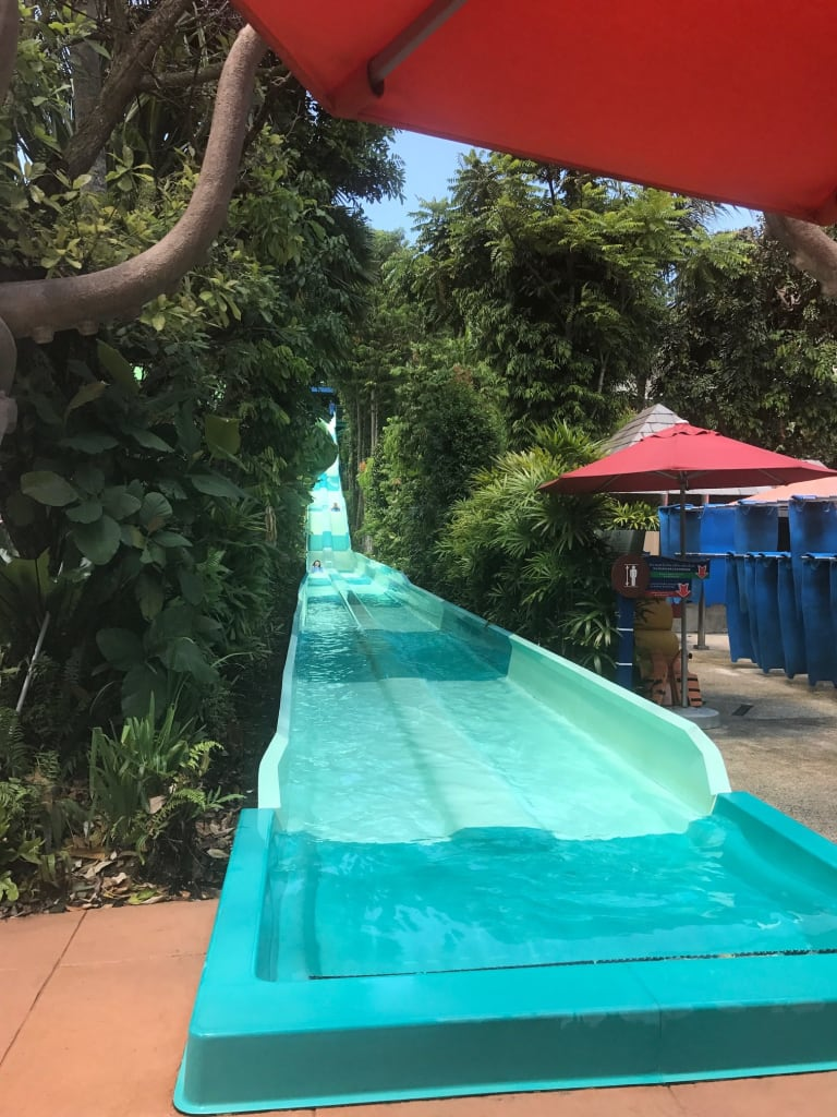 waterslide