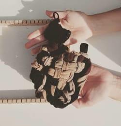 jeu-de-mains-Upcycling - Eponge tawashi
