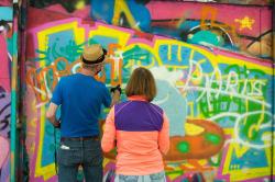 jeu-de-mains-Initiation au graffiti