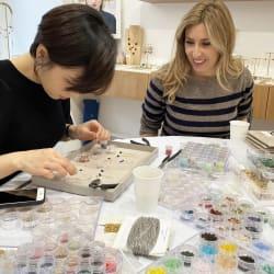 jeu-de-mains-Création d'un bijou