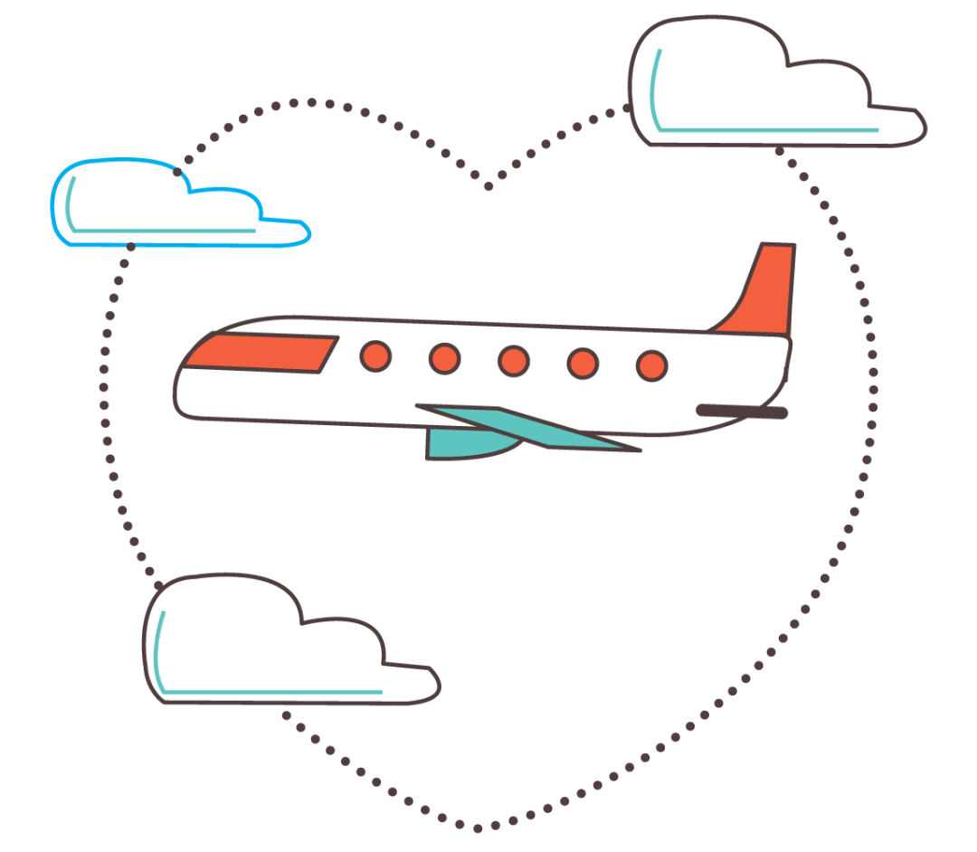Jis 0216 friendly skies airplane illustration ta9qst
