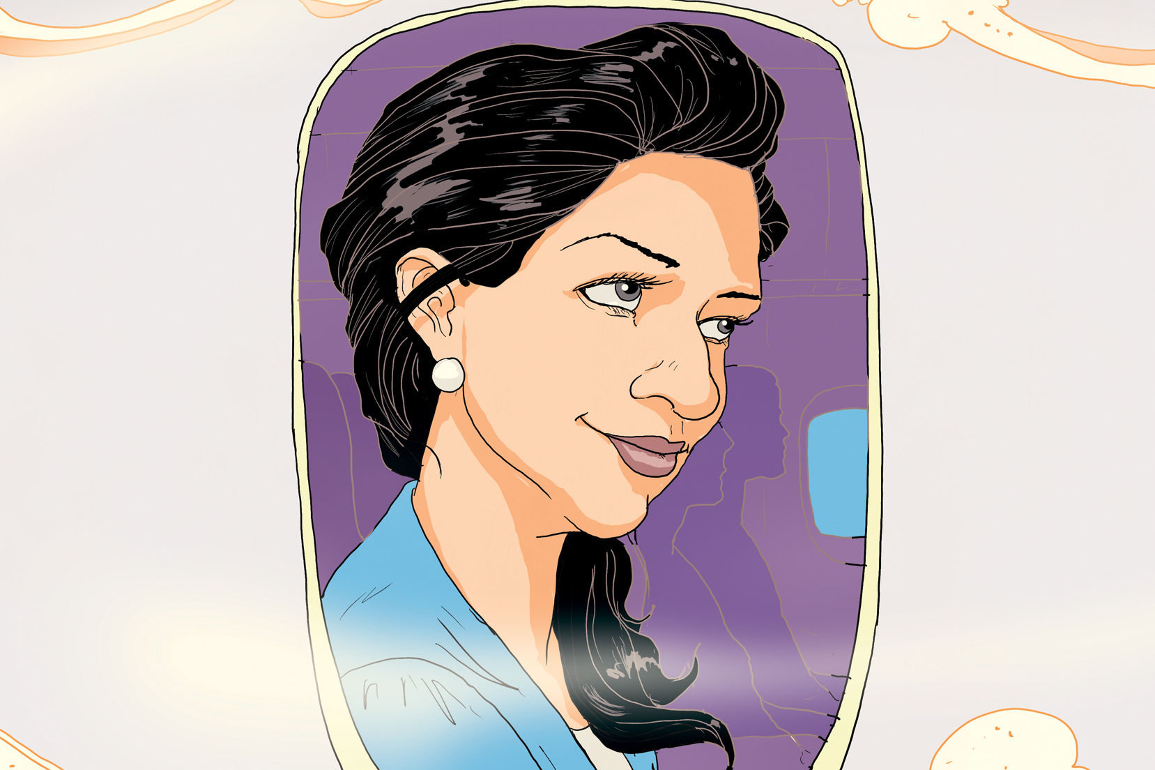 Jis 0217 travel featured illo woman on plane cs0nsz