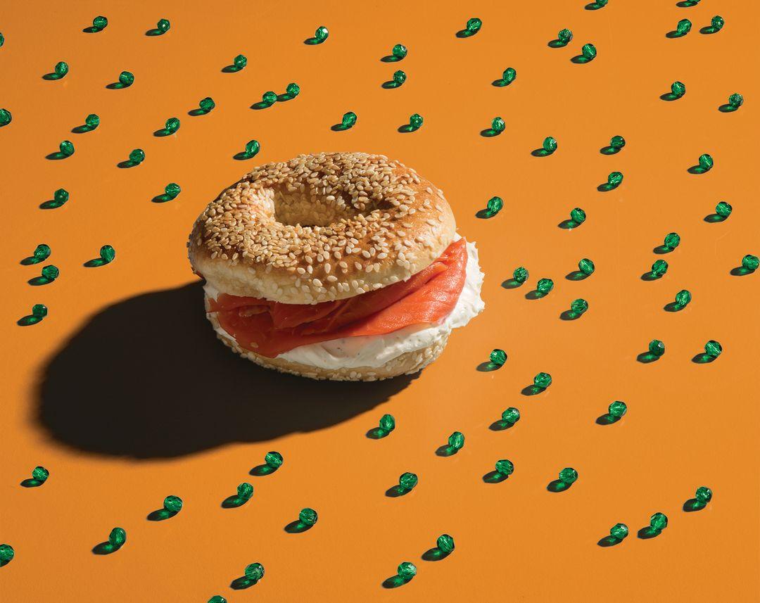 Jis 1215 bojw bagel sandwich dnbtmc