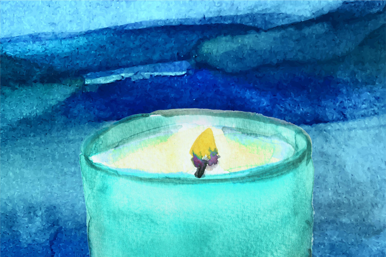 Jis 1216 candle illsutration oqnoha