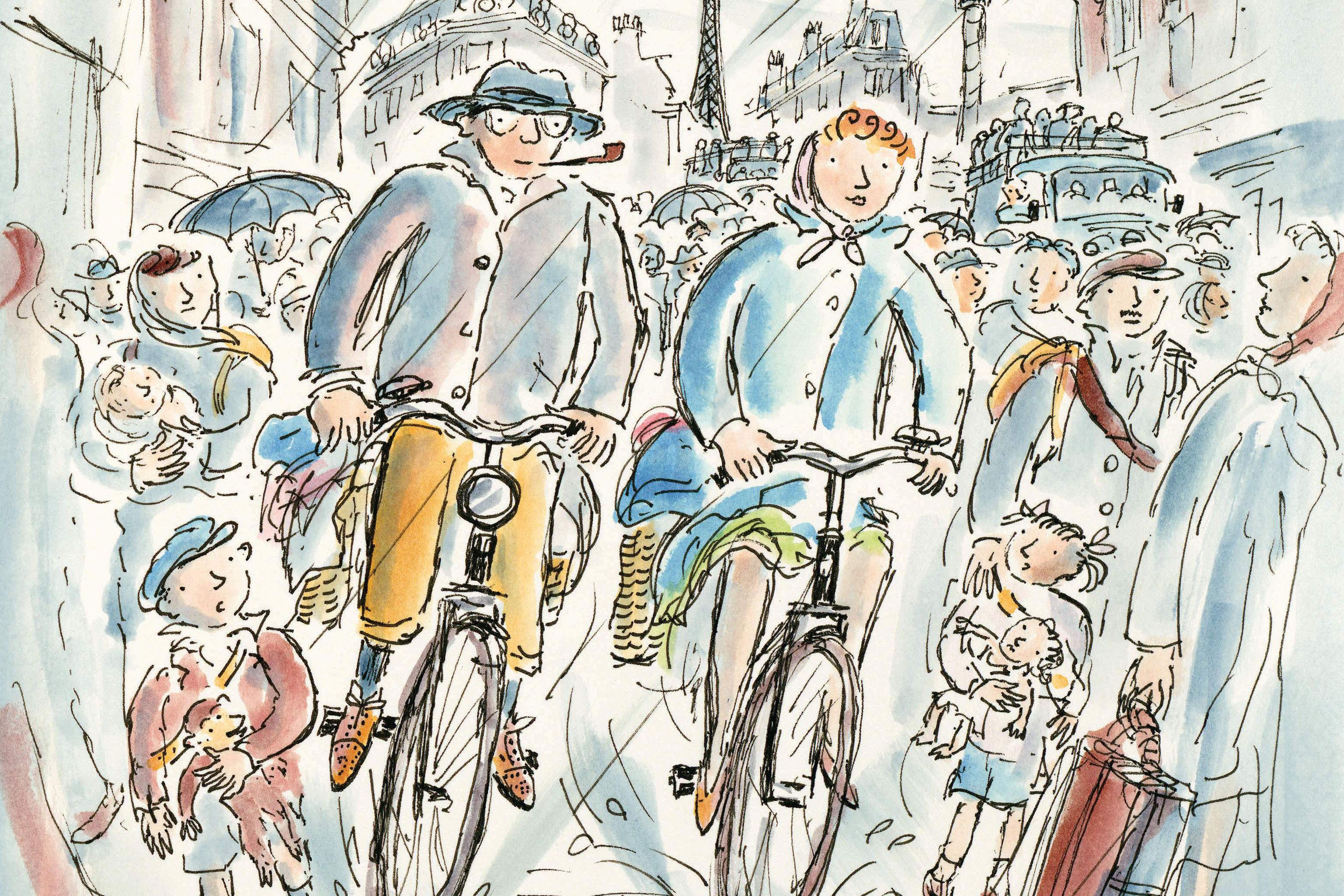 Jis 0417 curious george riding bikes in the rain qiwo1h