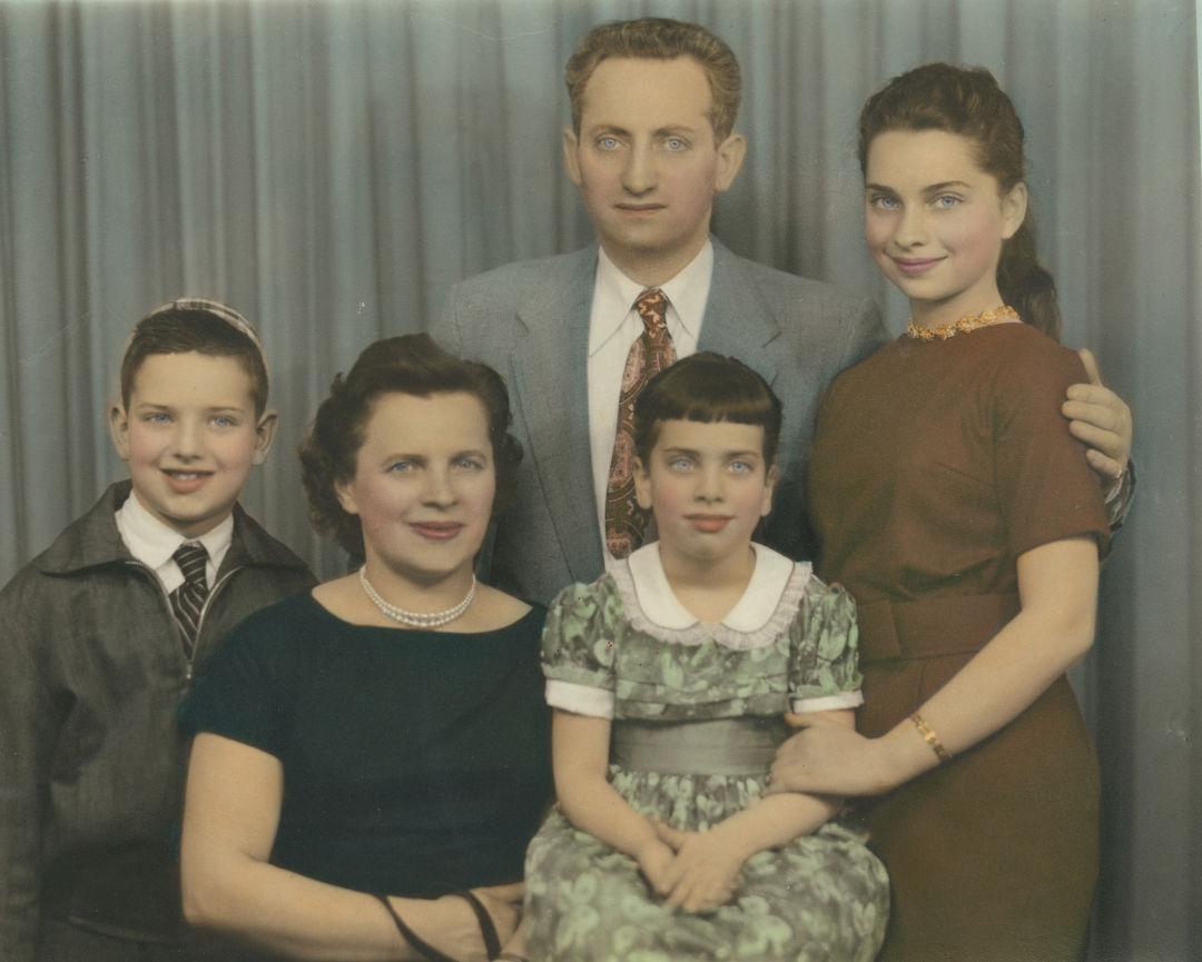 Jis 0816 goldberg family vintage photo bf6w9x
