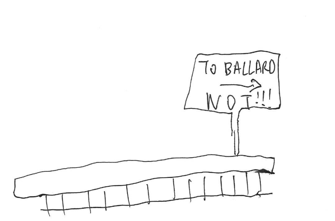 Rail ballard aynkro