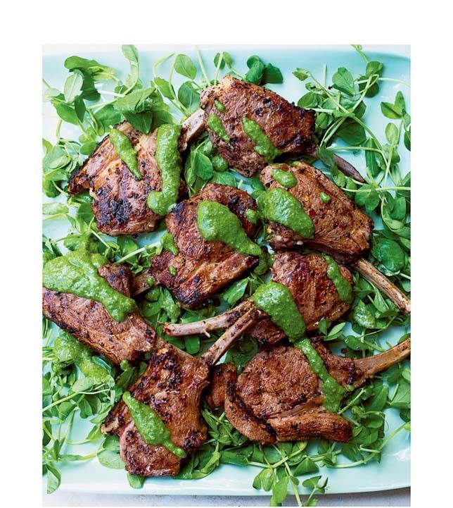 Spicy mint lamb jn6b33