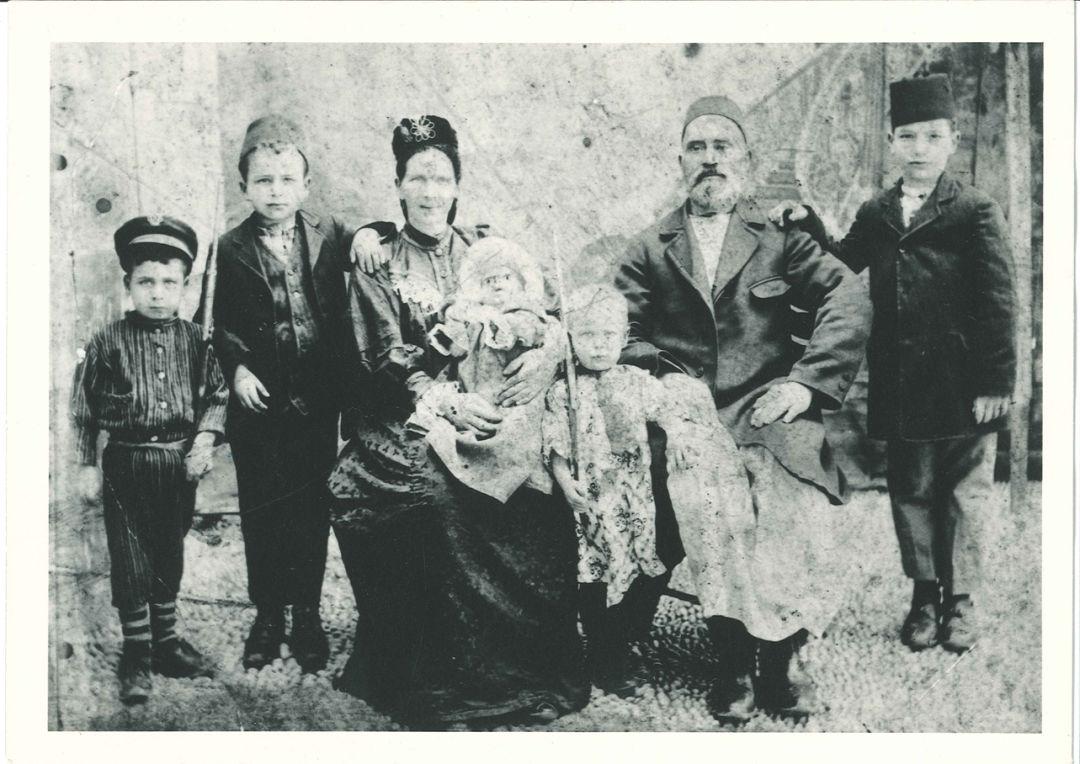 Jis 0816 sam israel vintage family portrait xjs8mb