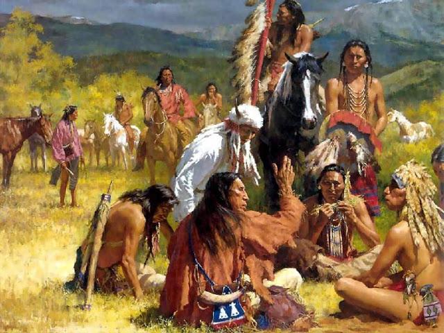 The Ten Commandments of the Native American