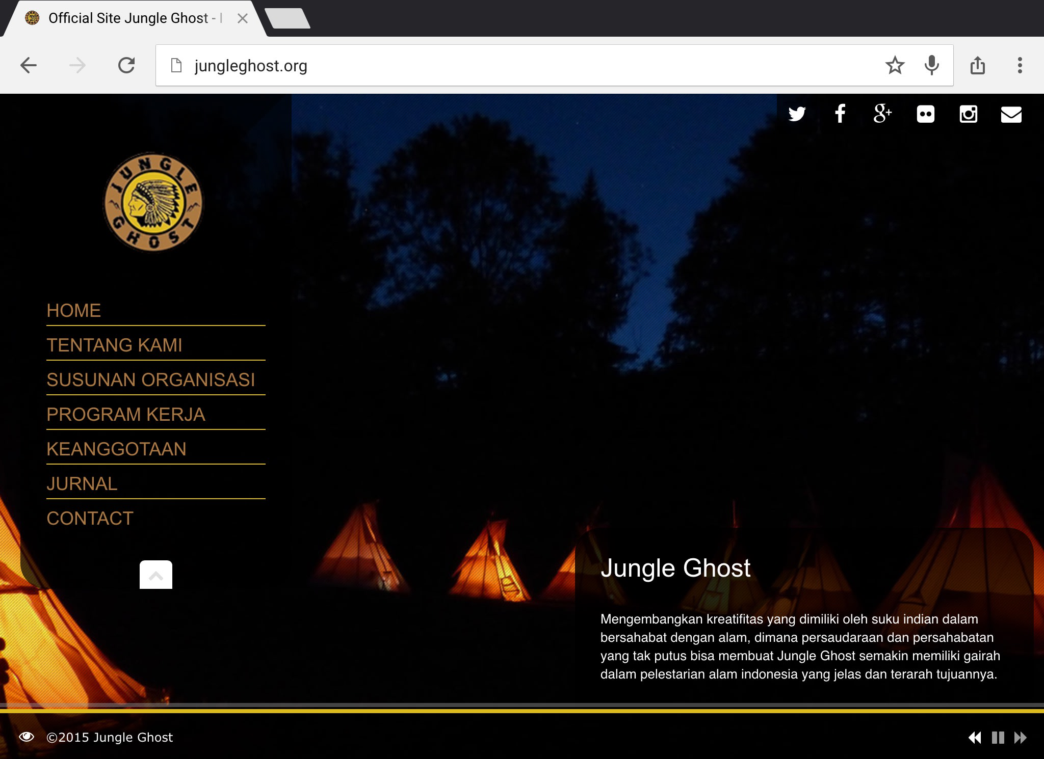 Jungle Ghost Luncurkan Website