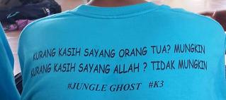 Tamasya Kasih Bersama Jungle Ghost dan K3