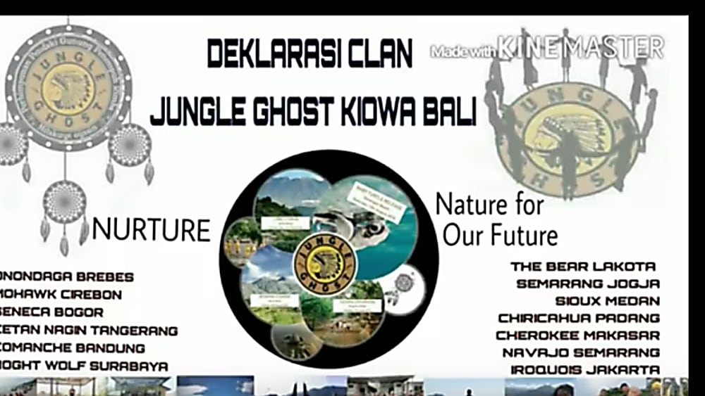 JUNGLE GHOST – Bali 13th-15th August 2016