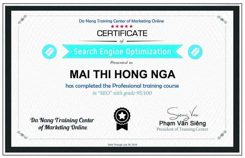 Khóa học Marketing Online chất lượng cao